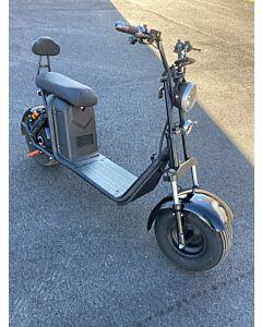 Harley bike CityCoco Big Boss med kraftig 2000W motor, golfbag hållare