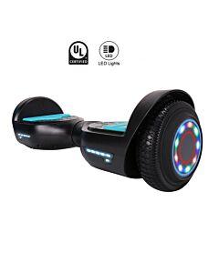 """Ståhjuling 6,5"""" ledlys"""
