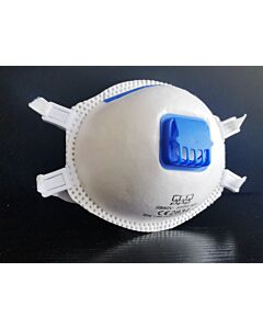 Støvmaske FFP3 med ventil