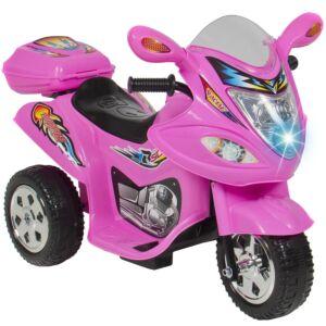 ELEKTRISK TRIKE MOTORCYKEL TILL BARN ROSA