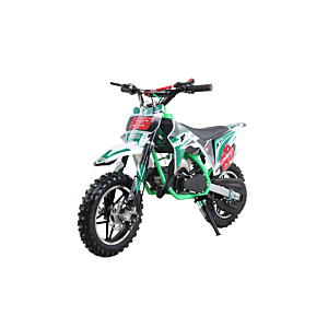 Mini cross 49 cc extreme edition green